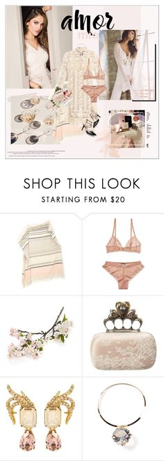 """""""One in a million"""" by maybones ❤ liked on Polyvore featuring MINNA, Scotch & Soda, Crate and Barrel, Alexander McQueen, Joe Fresh, Oscar de la Renta, Sycamore Street Press, modern, contemporary and country"""