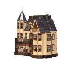 Na Design Tree Model Kit for Kids Adult - Laurel Town Home Black (Big size)