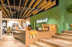 Die Firma Moysig entwickelt das neue Designkonzept für den Mensing Store und kreiert auf diese Weise ein spannendes Einkaufserlebnis.  #madebymoysig #Bottrop #Design #Designkonzept #Glück