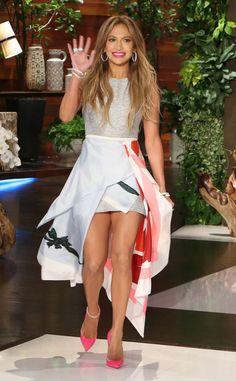 Jennifer Lopez On Ellen DeGeneres Show