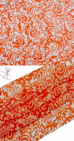 This Paisley Floral Hi Multi Chiffon Print is a lightweight, stylish and free flowing fabric. Coral and Off White bounce off each other incredibly in this print. Hi Multi Chiffon is a great material for layered dresses, blouses, scarves, wraps, DIY hairpieces, even chair decorations and much more!