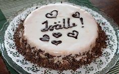 Isänpäiväkakku - Isälle omistettu kirjoitus kakun päällä kruunaa herkun! Fathers Day, Cheesecake, Menu, Pudding, Desserts, Food, Menu Board Design, Tailgate Desserts, Deserts