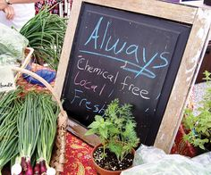 Farmers Market of the Ozarks (FMO) features products from farmers and vendors from southwest Missouri and Arkansas. To keep products local, all vendors (with a few exceptions) have to be located within 150 miles of the market.