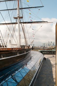 Cutty Sark by Grimshaw Architects - I Like Architecture