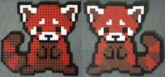 Red panda full perler bead