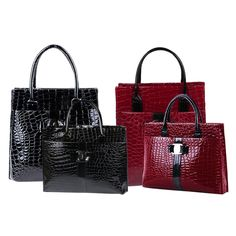 Luxury OL Style Lady Handbag Women Crocodile Pattern PU Leather Shoulder Bag HB88 #>=#>=#>=#>=#> Click on the pin to check out discount price, color, size, shipping, etc. Save and like it!