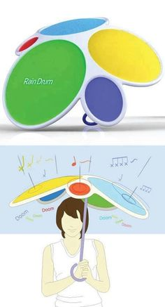 Rain Drum umbrella