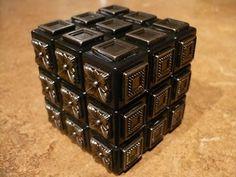 DIY - Rubik's Cube - Blind Man's Cube - Metal Rubiks cube