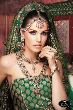 Jewellery by Kyles Collection #indianwedding