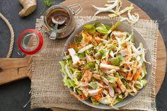 De perfecte salade om als lunch te maken als je bijvoorbeeld wat kip over hebt van de dag daarvoor. Dit is zo'n salade waarvan we weten dat er al veel […]