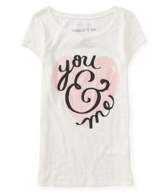You & Me Graphic T