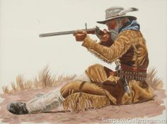 Joe Grandee. He was known for the Borax 20 Mule team artwork. I love his western and Native American style.