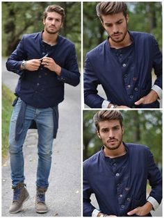 Street style by Mariano Di Vaio #fashion #style #menswear
