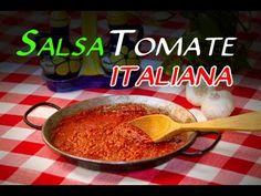 Receta de la Autentica Salsa de Tomate Italiana - YouTube
