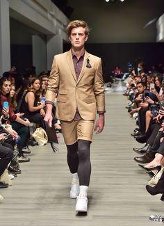 Galo Bertin - Spring/Summer 2018 collection - Mercedes-Benz Fashion Week Mexico City.