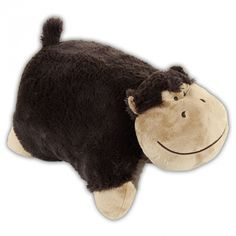 Silly Monkey Pillow Pet. SchimpansenKissen HaustiereKissenGute ...