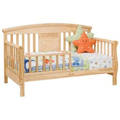 Convertible Toddler Bed in Natural