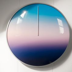 This Clock Gradually Transitions You From Dusk to Dawn South African Homes, 24 Hour Clock, Colossal Art, Dusk To Dawn, Vibrant Colors, Color Schemes, Cool Stuff, Design, Change