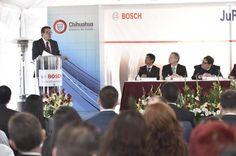 Inaugura Manuel Russek, ampliación de planta Bosch en Juárez | El Puntero