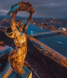 Statue of Liberty in Budapest, Hungary Lonly Planet, Wachau Valley, Europe Centrale, Hungary Travel, Belle Villa, Most Beautiful Cities, Wonderful Places, Travel Abroad, Best Cities