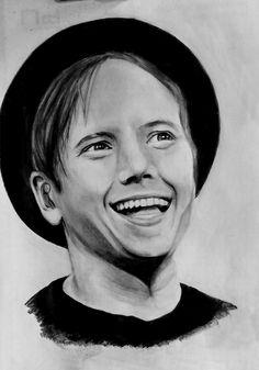 Patrick Stump pencil drawing