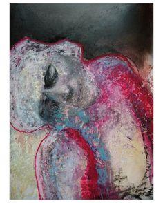 """Polubienia: 1,043, komentarze: 37 – wojciech sosidko (@w_sito) na Instagramie: """"dead in summer, pastel on paper, A3 . . . . . #art #sztuka #painting #oil #pastel #paper #portrait…"""""""