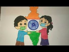 Independence Day Drawing || Independence Day Special 🇮🇳 || Happy Independence Day 🇮🇳🇮🇳🇮🇳🇮🇳 - YouTube Poster On Independence Day, Independence Day India Images, Independence Day Drawing, Independence Day Special, Art Drawings Sketches Simple, Cool Drawings, Pencil Drawings, Craft Stick Crafts, Preschool Crafts