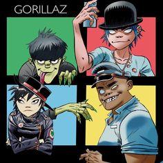 Gorillaz by jamie hewlett, awesome fan art by via Damon Albarn, Culture Club, Bow Wow, Billy Idol, Daft Punk, Fleetwood Mac, Gorillaz Band, Gorillaz Noodle, Murdoc Gorillaz
