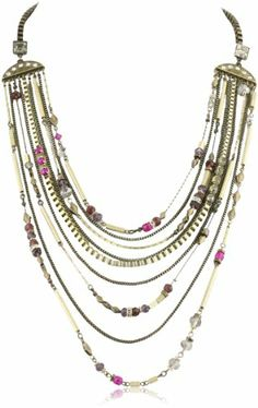 Martine Wester Jewelry Cabaret Long Statement Necklace