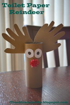 20+ Reindeer Crafts for Kids - love these!!
