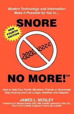 snoringsolutionsf... Snore No More provides value information on how to help yourself; family members, friends, or roommates stop snoring and live longer, healthier and happier. This fourth edition of Snore No More outlines easy-to-understand facts about