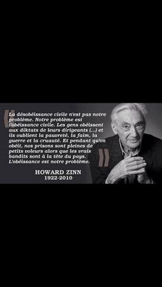 Le journal de BORIS VICTOR : Une citation de HOWARD ZINN  plus que jamais d'act...