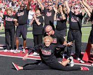 At 92, cheerleader still showing off