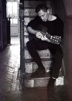 a guy who can play musical instrument always attractive to me especially if hes Tom Hiddleston XD
