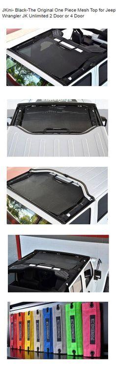 JKini- Black-The Original One Piece Mesh Top for Jeep Wrangler JK Unlimited 2 Door or 4 Door