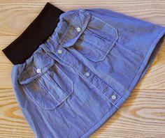 KoloDIY: Мастер-класс: юбка из рубашки + парочка идей