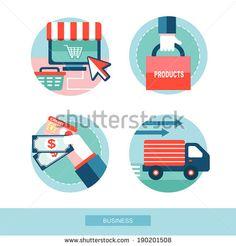 Shop Online Stock Vectors & Vector Clip Art | Shutterstock