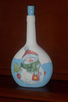 1000 images about botellas decoradas on pinterest manualidades pintura and decorated bottles - Botellas decoradas manualidades ...