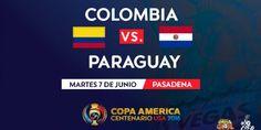 Ver Colombia vs Paraguay En Vivo Online Gratis Copa América Centenario 2016