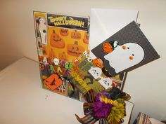 Win Free $100 eBay Gift Card  HALLOWEEN PARADE Picture Frame and GHOST Card by CathysCraftWorld, $27.00