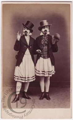 Clowns or jugglers - Museum of 19th Century Photography