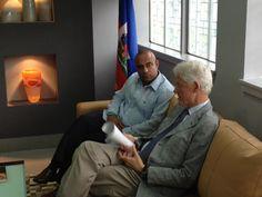 Lamothe and Clinton on http://mangodhaiti.blogspot.com/