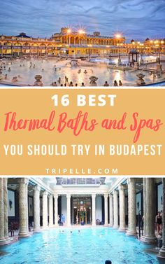 """Budapest has long been known as the area for thermal baths and spas, and it actually has earned the nickname of """"City of Baths"""".  All the thermal baths in Budapest receive their water from more than one hundred hot springs. There are not too many things you must know before venturing into one of these best spas and thermal baths in Budapest, but you should be aware of a couple.  The first is that bathing suits are required at all times. Travel Plan, Travel Advice, Travel Ideas, Travel Inspiration, Europe Destinations, Europe Travel Tips, European Travel, Group Travel, Family Travel"""