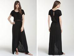 Trouvé Asymmetrical Hem Maxi Dress - Black - Trouve