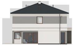 DOM.PL™ - Projekt domu SD Kartagina CE - DOM SD1-94 - gotowy koszt budowy Gazebo, Garage Doors, Shed, Outdoor Structures, Outdoor Decor, Home Decor, Kiosk, Decoration Home, Room Decor