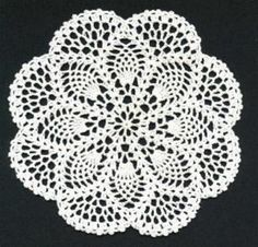 These 10 Beautiful And Free Crochet Doily Patterns Are Sure To Delight You And A. These 10 Beautiful And Free Crochet Doily Patterns Are Sure To Delight You And All Your Guests – Knit And Crochet Daily Filet Crochet, Mandala Au Crochet, Free Crochet Doily Patterns, Crochet Motifs, Thread Crochet, Lace Knitting, Knitting Patterns, Free Pattern, Crochet Stitches