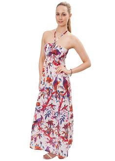 Bandeau Maxi Paradise Garden Dress -- Don't get left behind, see this great  product : Dresses Sale