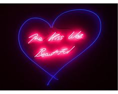 TRACEY EMIN The Kiss Was Beautiful, 2012
