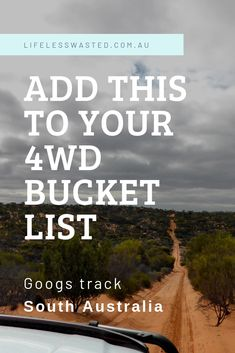 Googs Track in South Australia's outback is a must do trip. Thinking of doing it? Find out what you need to know before setting off. Canopies, South Australia, The Places Youll Go, Need To Know, Track, Camping, Ads, Adventure, Life