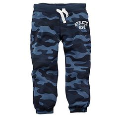 Carters Baby Boys Knit Fleece Pants Baby  Blue Camo  6M *** Read more reviews of the product by visiting the link on the image.Note:It is affiliate link to Amazon.